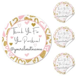 """Stickers (100) with Name Personalization 2"""""""